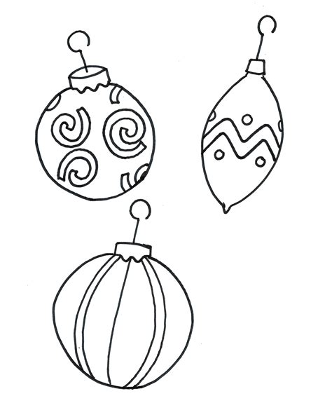 Coloring Ornaments by Ornament Coloring Pages To And Print For Free