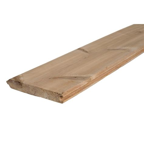 1 X 6 Shiplap Boards by 1 In X 6 In X 8 Ft Tongue And Groove Pattern Cedar