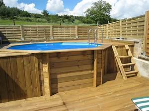 Terrasse Piscine Hors Sol : terrasse en bois piscine hors sol diverses ~ Dailycaller-alerts.com Idées de Décoration