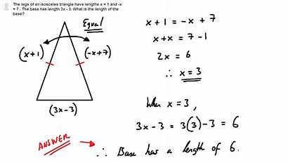 Isosceles Triangle Formulas Problem Proofs Triangles Mathematical