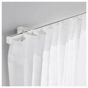 Rail Rideau Plafond Extra Plat : vidga rail pour rideau simple blanc 140 cm ikea ~ Dailycaller-alerts.com Idées de Décoration
