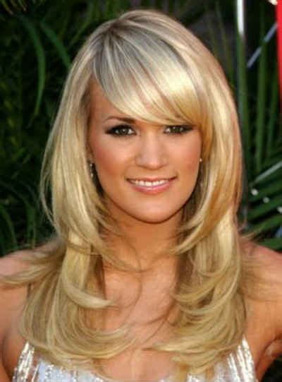 haircuts with layers and side bangs layered hairstyles with side swept bangs cool