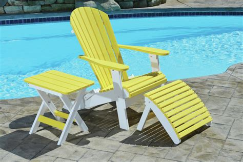folding adirondack chair comfo back