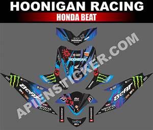 Striping Motor Beat Hoonigan Racing