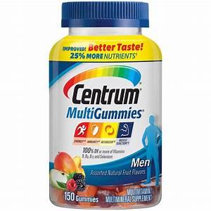 Upc 300054862914 - Centrum Mens Multivitamin Gummies