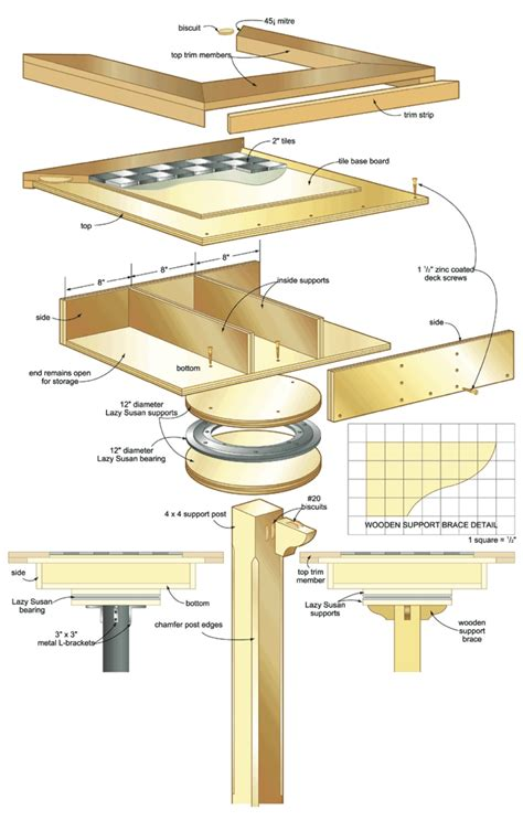 garden games table woodworking plans woodshop plans
