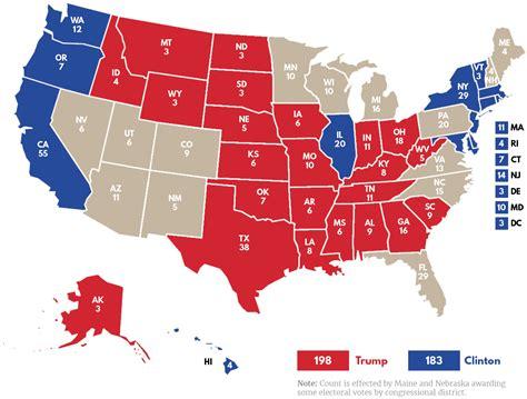 trump voters democratic vote states map senate seats votes indiana side hillary electoral those legacy way missouri