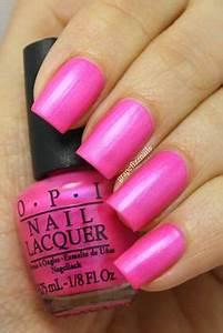 OPI Hotter Than You Pink nail art Pinterest