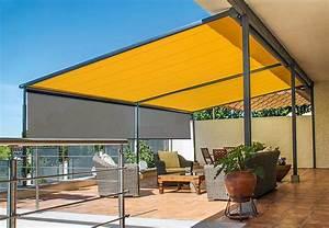 pergola markise von markilux mit zweifachem sonnenschutz With markise balkon mit foto als tapete