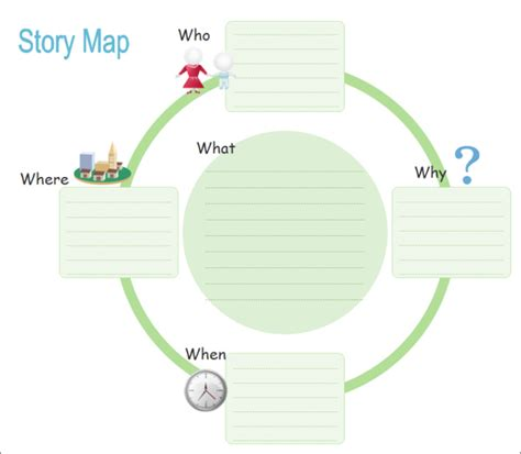 activity map templates  word  format