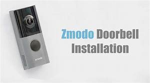 Install Zmodo Smart Doorbell Like A Breeze  With Video