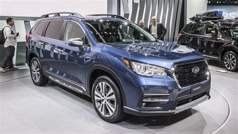 2019 Subaru Ascent Debut by 2019 Subaru Ascent Release Date Specs News Three Row Suv