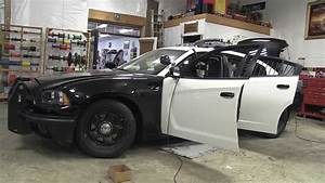 2012 Dodge Charger Black And White Police Package Patrol