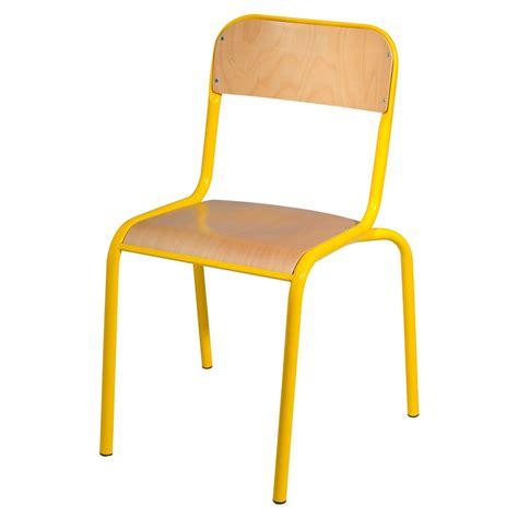 chaise écolier chaise atlas 4 pieds chants protégés manutan collectivités