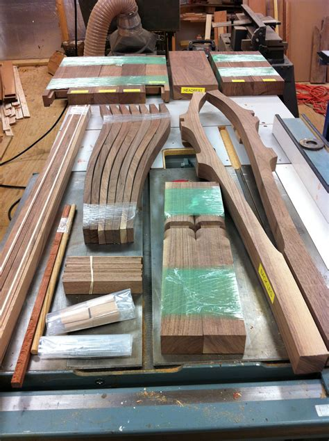 Maloof Rocking Chair Kit by From The Chair Getting Started Building Charles Brock