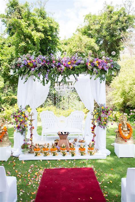 south indian wedding decor mandap cape town wedding