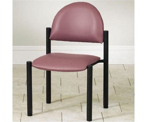 waiting room black frame chair w o arms