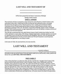 free last will and testament template 28 images free With last will and testament template florida