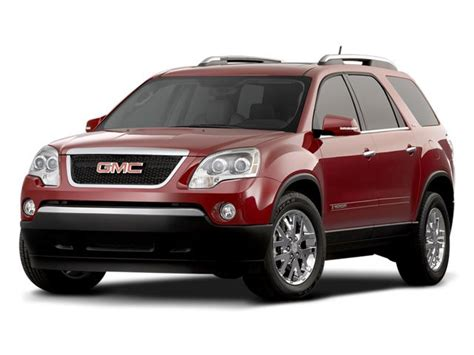 gmc acadia  sale pricing features edmunds