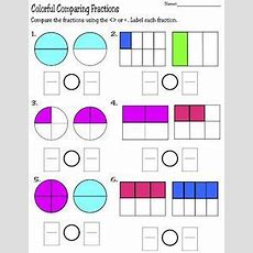Fraction Circles Worksheet  Printable Worksheets  Pinterest  Circles, Fractions And Worksheets