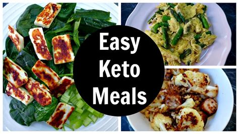 easy keto meals full day   carb ketogenic diet