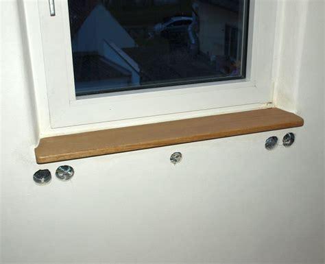 Fensterbank Holz Innen Einbauen