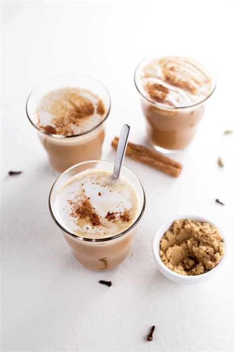 tea latte how to make chai tea recipe dishmaps