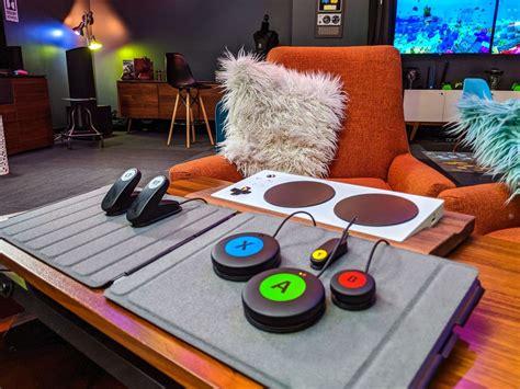 logitechs adaptive gaming kit  playing