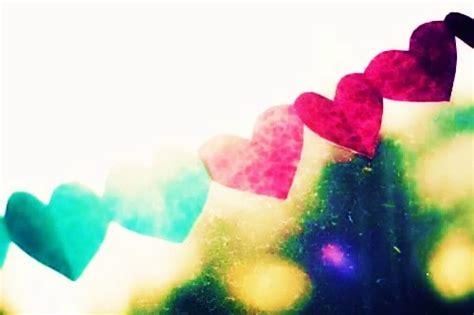 colorful hearts   Tumblr