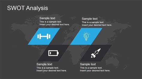 swot analysis template  powerpoint slidemodel