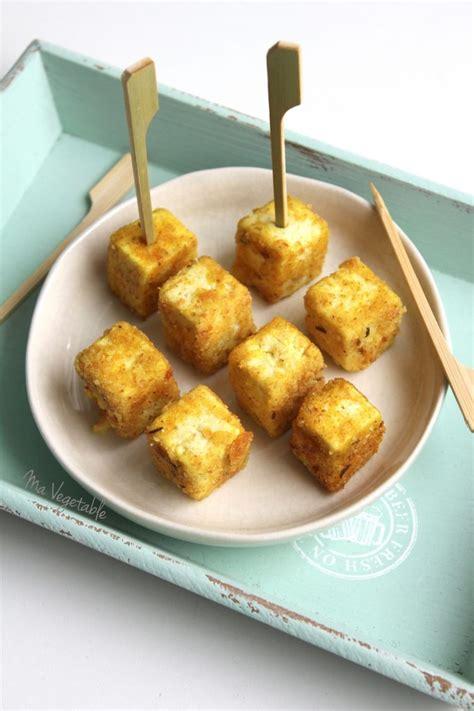 comment cuisiner les pois chiches bouchées apéritives de tofu au curry 1 2 3 veggie