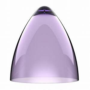 Nordlux funk 27 75463207 purple clear lamp shade nordlux for Floor lamp with plum shade