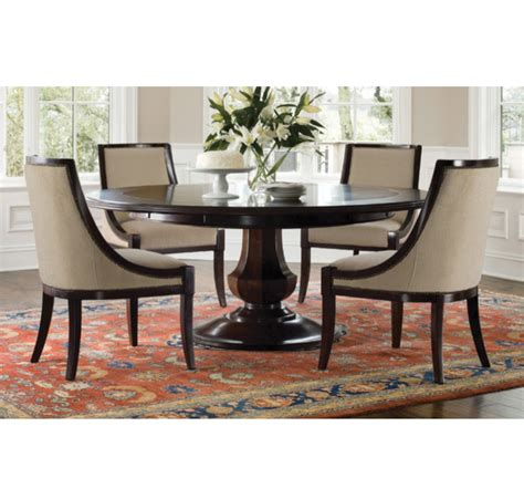 See more ideas about dining table, dining, round dining table. Sienna Expandable Round Dining Table by Brownstone. Original Price: $5,479   Design Plus Gallery