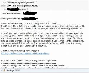 Gmx Rechnung Bekommen : was ist gmx denn f r ein scheissverein de ~ Themetempest.com Abrechnung