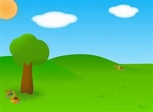 Cartoon Landscape Clip Art at Clker.com - vector clip art ...