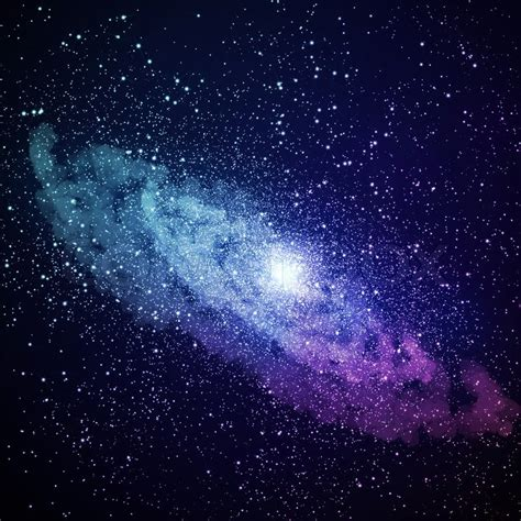 Space Galaxy Image Stock Photo Colourbox