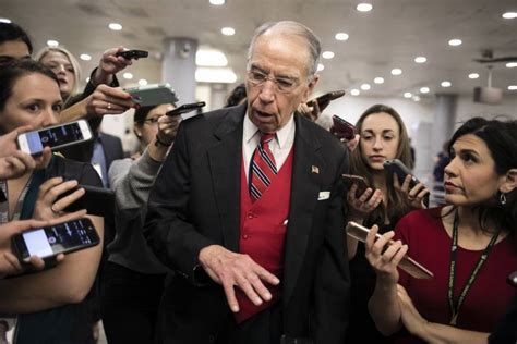 GOP Sen. Chuck Grassley may release Russia interview
