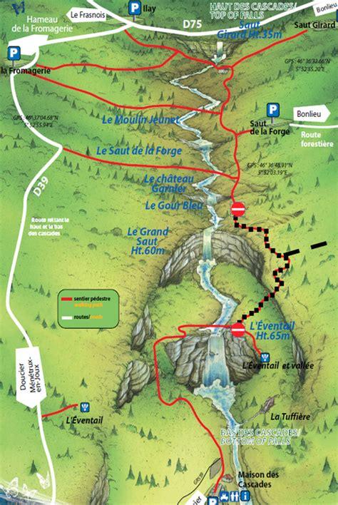cascades du h 233 risson jura boissellerie du herisson les rousses region des lacs le frasnois