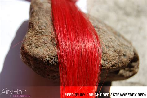 Complete Colored Hair Extensions And Dyeing Color Chart