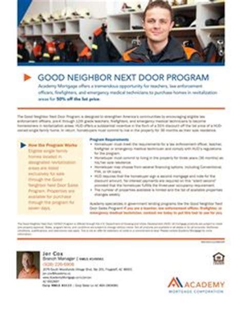 next door program 1000 images about loan program flyers on