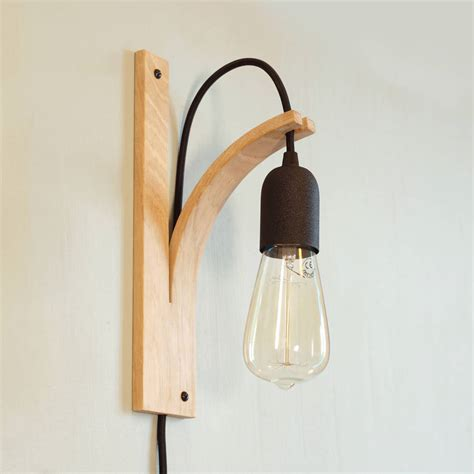 wall bracket light by layertree notonthehighstreet