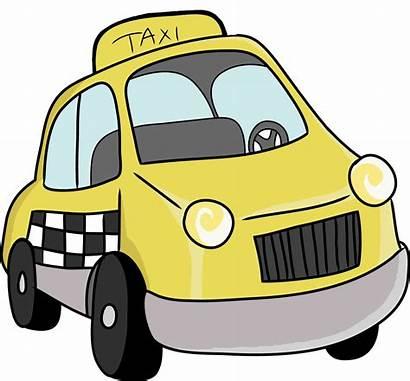 Taxi Clipart Cab Cartoon Clip Cliparts Rank