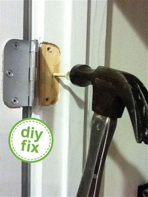 how to fix stripped in wood genius use a wooden golf tee to fix stripped wood holes hammer in trim excess then replace