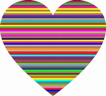 Clipart Heart Colorful Fox Clipground Transparent Cliparts