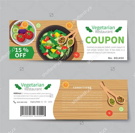 food coupon designs psd ai word design trends