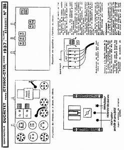 Ducretet C735 Receiver 1937 Sch Service Manual Download