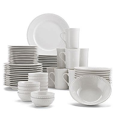 pearl  piece dinnerware set jcpenney home style
