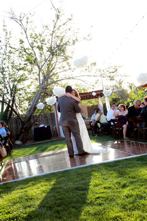 Backyard Rustic California Wedding  Rustic Wedding Chic