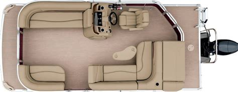Bennington Pontoon Boats Floor Plans by 2017 S20 Cruise Pontoon Boats By Bennington