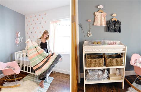chambre bébé moderne une chambre bebe en gris pastel chiara stella home